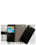 Læs mere om RadiCover iPhone 6/6S 2-i-1 læder flipcover