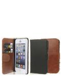 Læs mere om iPhone SE / 5&5S Læder flipcover