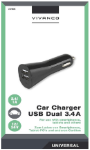 Læs mere om Universal Biloplader m. 2 USB porte