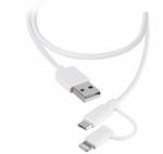 Læs mere om 3-i-1 stik kabel med Micro USB og 8-pin stik