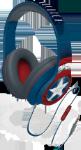 Læs mere om EKIDS Captain America høretelefoner