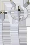 Læs mere om 3-i-1 stik med UCB-C, Micro USB og Lightning