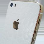 Læs mere om iPhone SE / 5&5S Make it Stick - Hvid croco