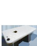 Læs mere om iPhone 7 Plus Make it Stick - Hvid croco