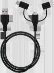 Læs mere om 3-i-1 stik kabel med Micro USB, USB C & 8-pin