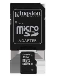 Se stort billede af Kingston Hukommelseskort 16GB