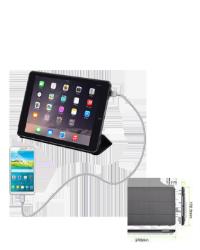 iPad Air 2 Xceed Cover m/backup batteri