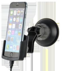 Se stort billede af iPhone 6S bilholder med oplader og sugekop