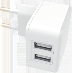 Universal Dobbelt USB oplader