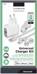 Universal Komplet oplade-kit