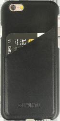 iPhone 7 læder cover med lomme