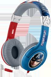 EKIDS Captain America høretelefoner