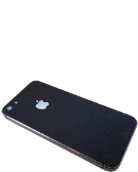 iPhone SE / 5&5S Make it Stick - Sort læder