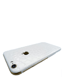 iPhone 7 Plus Make it Stick - Hvid croco