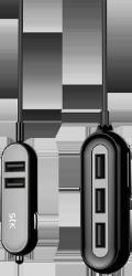 Universal 5 ports USB billader