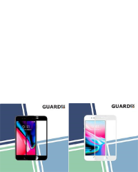 Se stort billede af iPhone 8 Guardex Shield - small size color