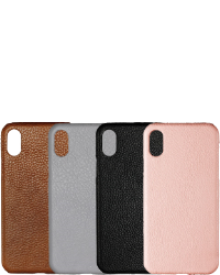 iPhone X/XS Læder cover