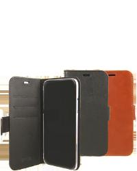 Se stort billede af iPhone X/XS Læder flipcover