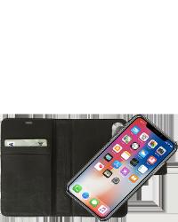 Se stort billede af RadiCover iPhone X 2-i-1 Læder flipcover
